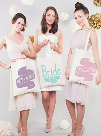 Bride to Be Tote Bag | Bride Cotton Tote | Alphabet Bags