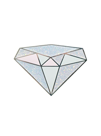 Photo of Diamond / April - Enamel Pin