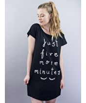 Just Five More Minutes - Night Shirt
