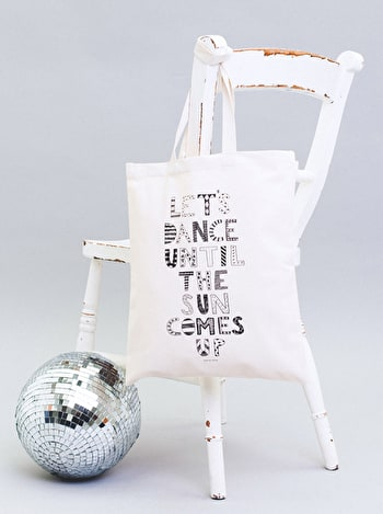 Photo of Dance Until the Sun Comes Up - Erin McIntyre for Alphabet Bags