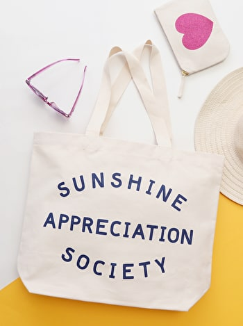 Photo of Sunshine Appreciation Society - Big Canvas Tote Bag
