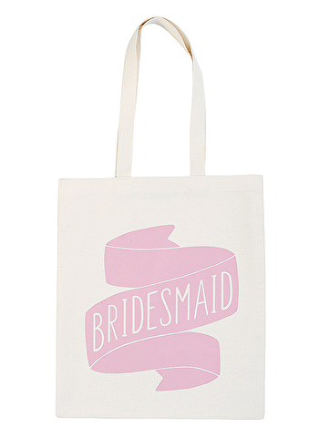 Bridesmaid Rose - Wedding Tote Bag