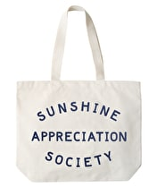 Sunshine Appreciation Society - Big Canvas Tote Bag