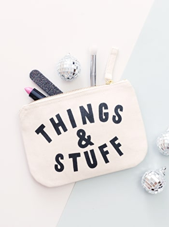 Photo of Things & Stuff - Little Canvas Pouch