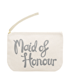 Maid of Honour Grey - Wedding Pouch