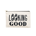 Looking Good - Large Canvas Pouch