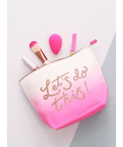 Let's Do This! Ombre - Makeup Bag
