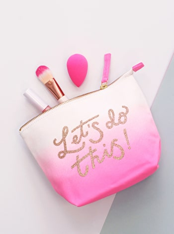 Let's Do This Makeup Bag | Makeup Bags | Alphabet Bags