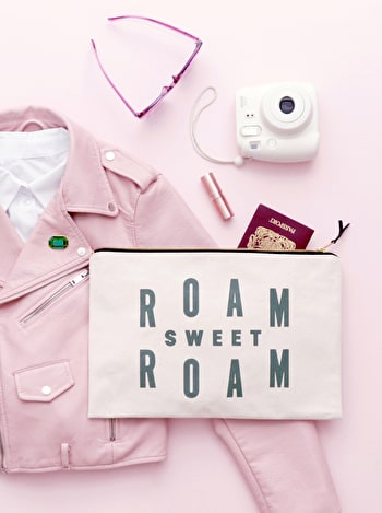Photo of Roam Sweet Roam - Extra Large Travel Pouch