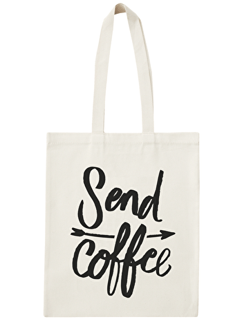Photo of Send Coffee - Cotton Tote Bag