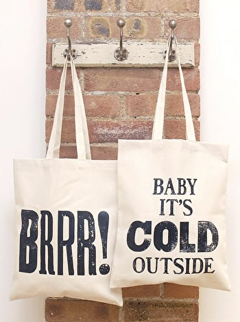 Photo of Brrr! - Cotton Tote Bag