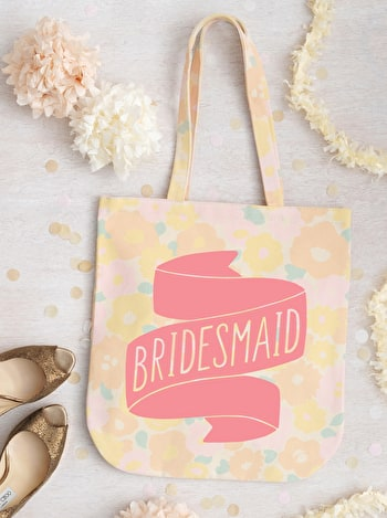 Photo of Bridesmaid - Floral Banner - Second