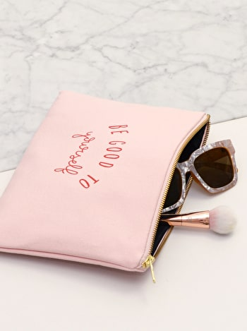 Photo of Be Good To Yourself - Blush Pink Pouch