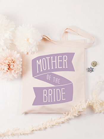 Photo of Mother of the Bride Lavender - Wedding Tote Bag