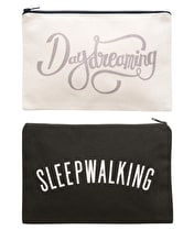 Daydreaming/Sleepwalking - Double-sided Pouch