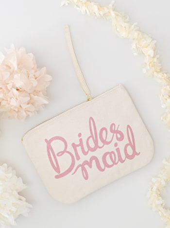Photo of Bridesmaid Rose - Wedding Pouch