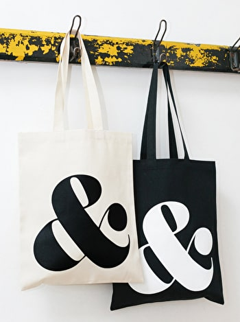 Photo of Ampersand - Cotton Tote Bag