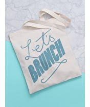Let's Brunch - Cotton Tote Bag