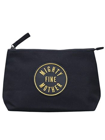 Mighty Fine Mother Black - Makeup Bag