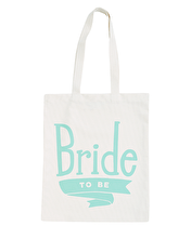Bride To Be Mint - Wedding Tote Bag