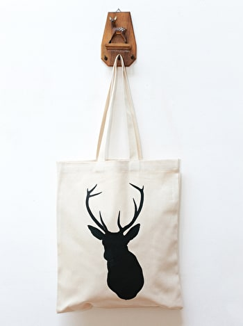 Photo of Stag - Cotton Tote Bag