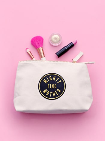 Mighty Fine Mother Makeup Bag | Gifts For Mum | Alphabet Bags