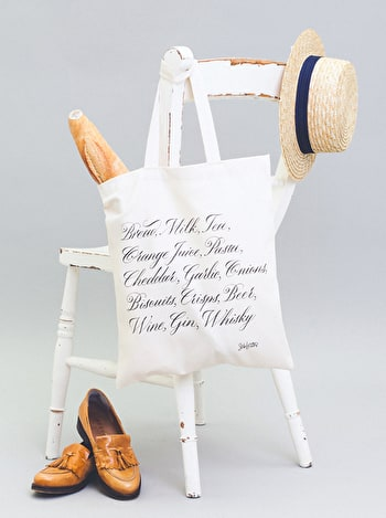 Photo of Shopping List - Seb Lester for Alphabet Bags