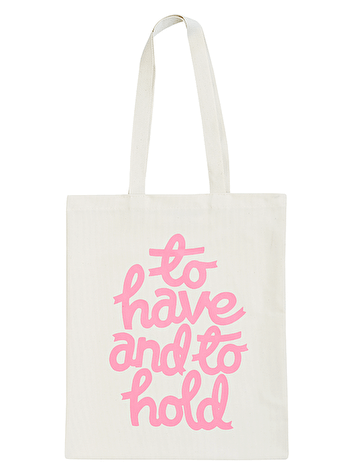 To Hold - Wedding Tote Bag