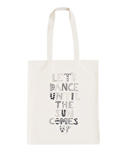 Dance Until the Sun Comes Up - Erin McIntyre for Alphabet Bags