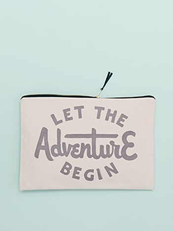 Photo of Let the Adventure Begin - Extra Large Travel Pouch