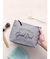 Exceptionally Good Dad - Wash Bag