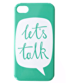 Let's Talk - iPhone 4/4S Case