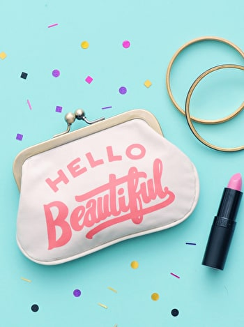 Photo of Hello Beautiful - Coin Purse