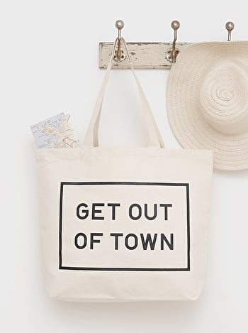 Get Out Of Town Bag | Weekend Bags | Alphabet Bags