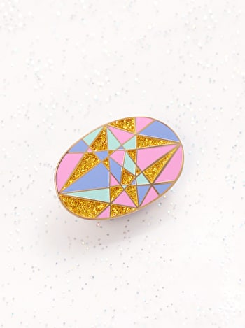 Photo of Opal / October  - Enamel Pin