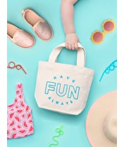 Have Fun Always - Little Canvas Bag