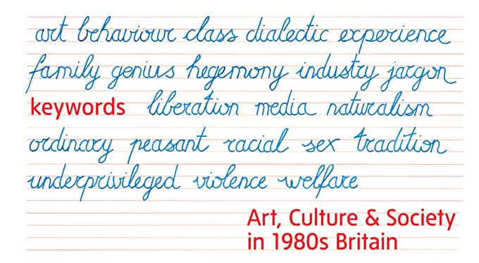 Past event: Keywords explores radical 1980's Britain at Tate Liverpool