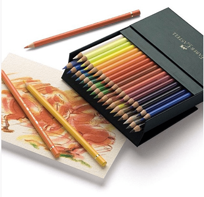 How to Use Faber Castell Polychromos Pencils