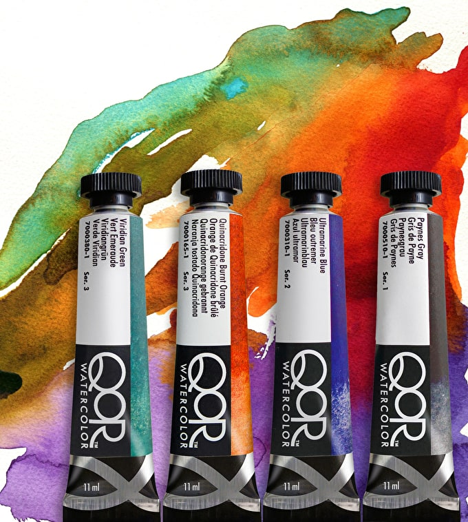 Quality of Results: Brand New QoR Watercolours