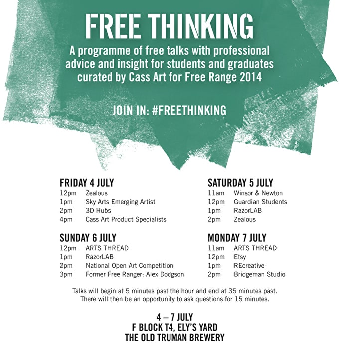 Free Thinking At Free Range 2014