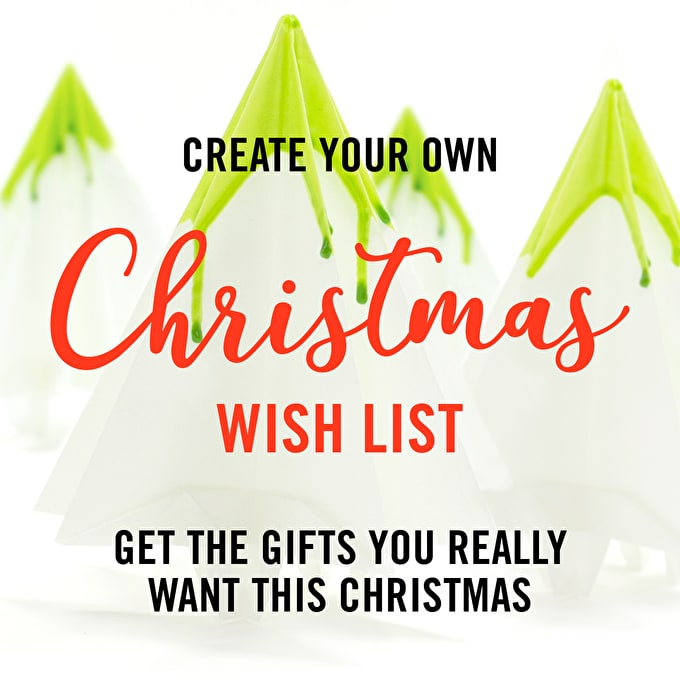 How To Make a Wish List and get the Art Supplies you really want