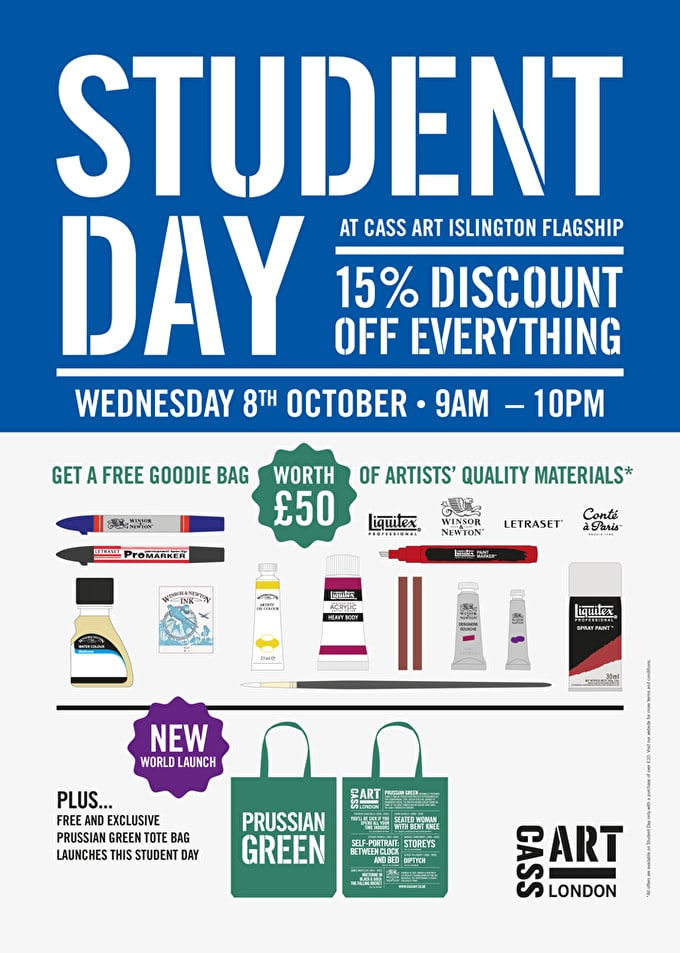 Student Day 2014: 15% Off Everything Plus £50 Goodie Bag And More!