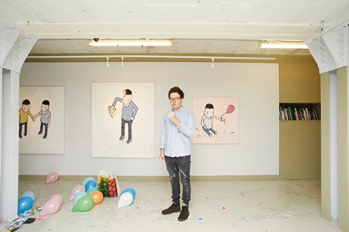 Felix Treadwell, Winner of The 2014 HIX Award, Has A Sell-Out Exhibition At CNB Gallery
