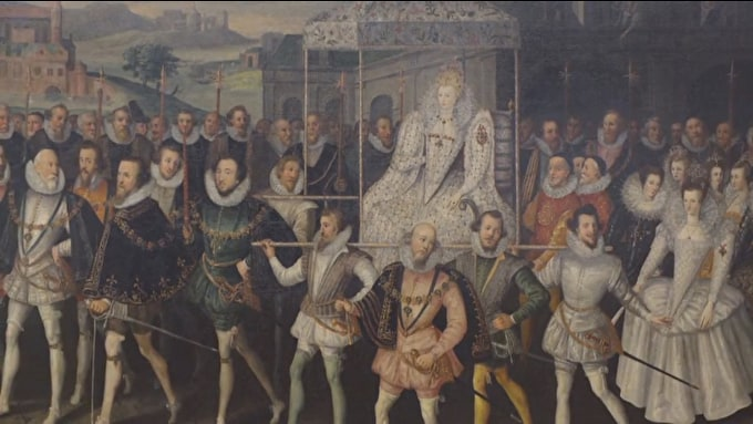 Queen Elizabeth I reigns at the National Portrait Gallery