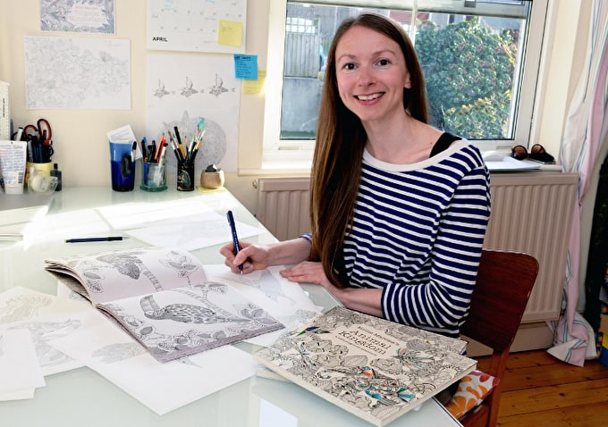 An Interview With Colouring Book Illustrator Millie Marotta