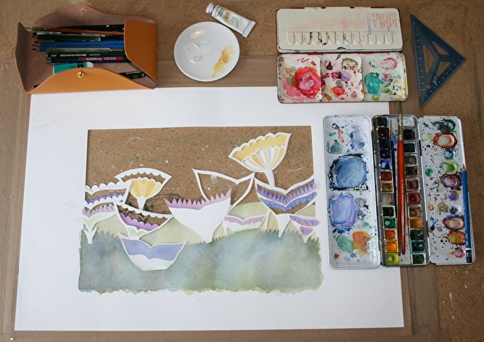 Watercolour wonders with Louise Jenkins