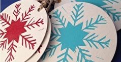 Christmas How To: Create Your Own Lino Cut