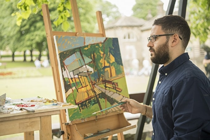 Fadi Mikhail Wins Heat 1 of Sky Arts Landscape Artist of the Year 2017