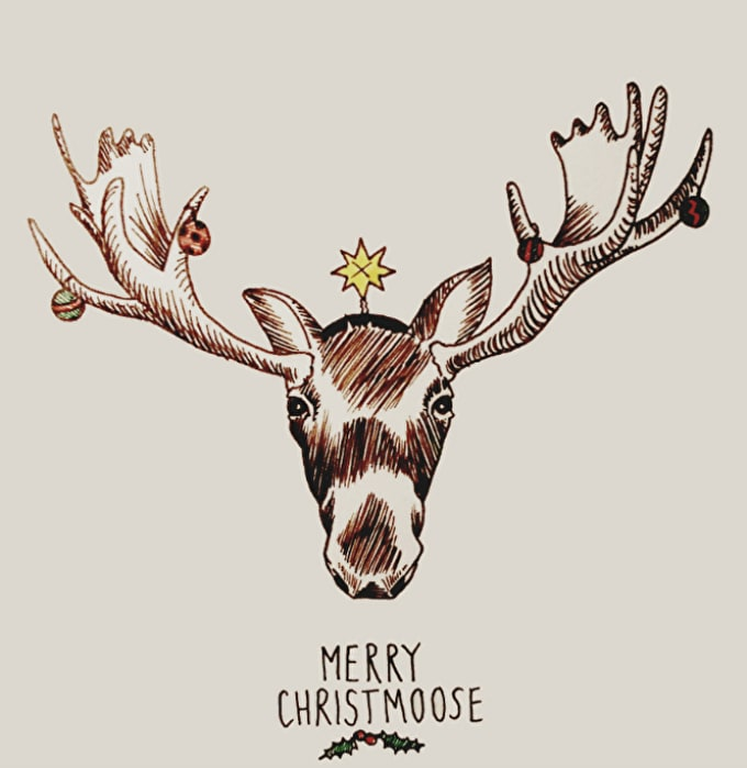 How To: Illustrate Your Own Homemade Christmas Cards