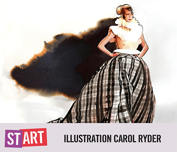 Start Illustration with Carol Ryder